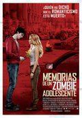 Cartel Memorias de un zombie adolescente