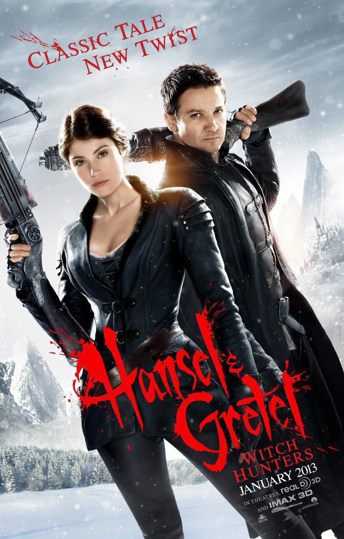 Cartel EEUU de 'Hansel y Gretel: Cazadores de brujas'