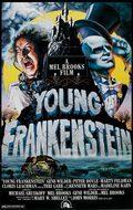 Cartel El jovencito Frankenstein