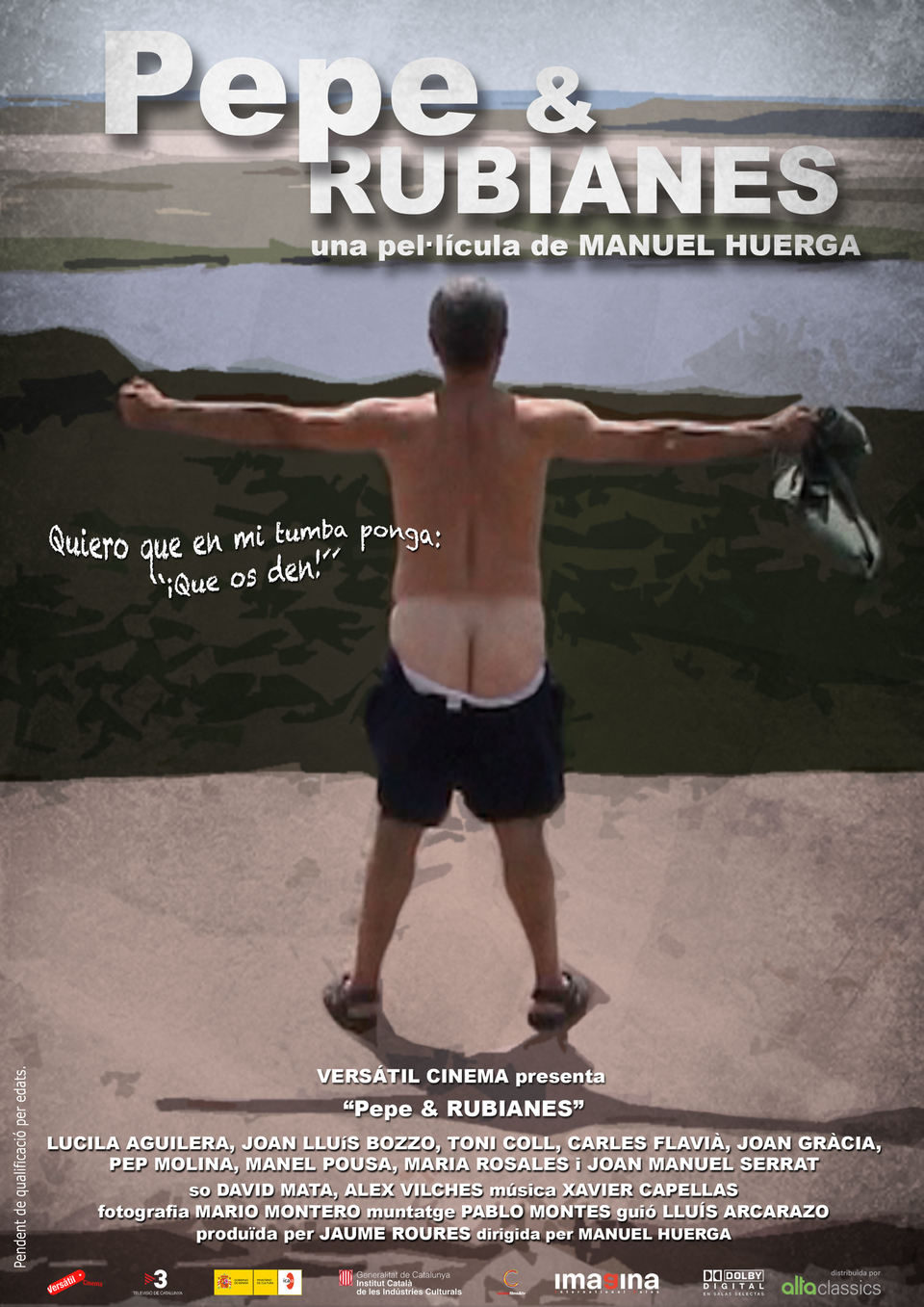 Cartel España de 'Pepe & Rubianes'