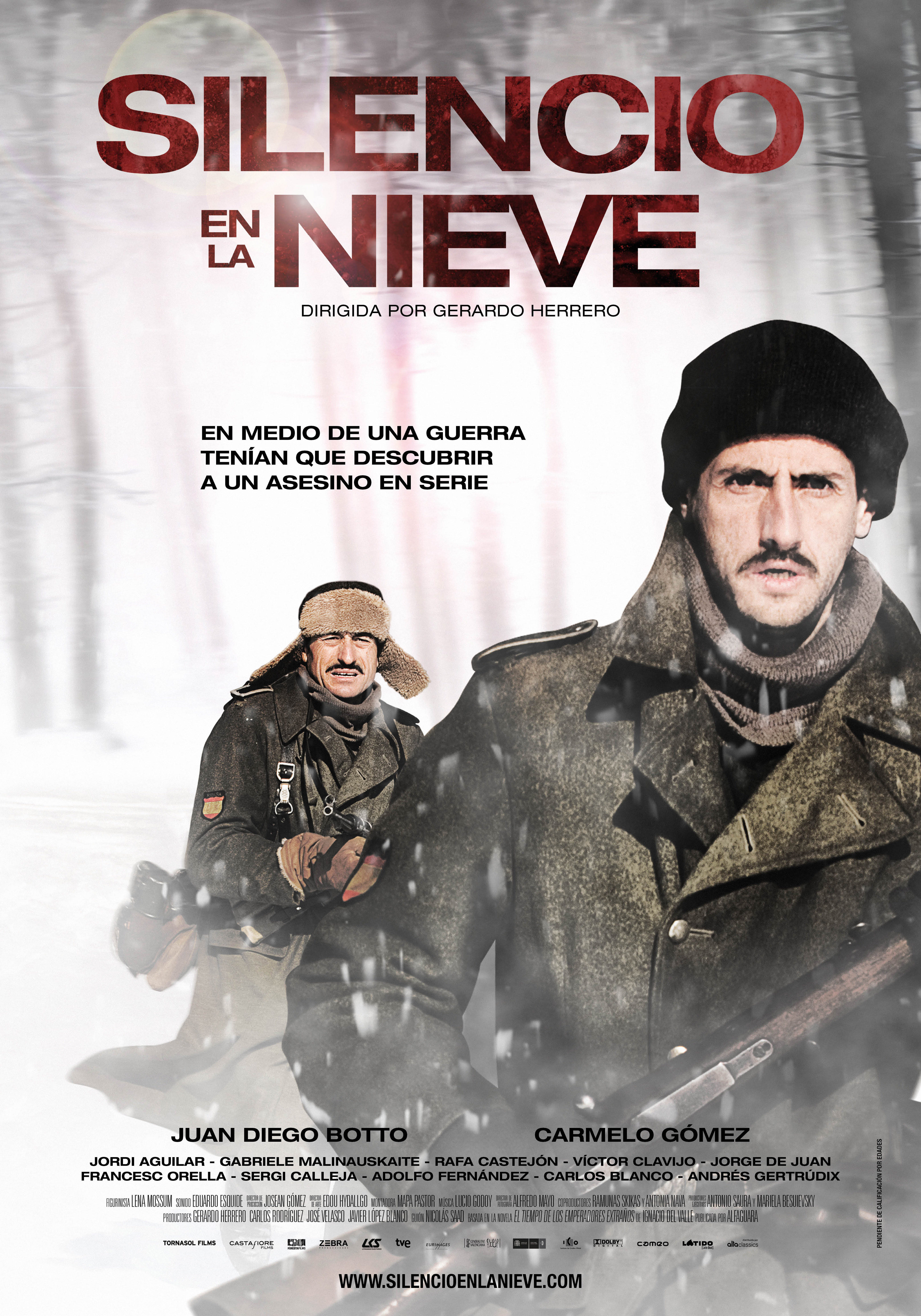 Cartel España de 'Silencio en la nieve'