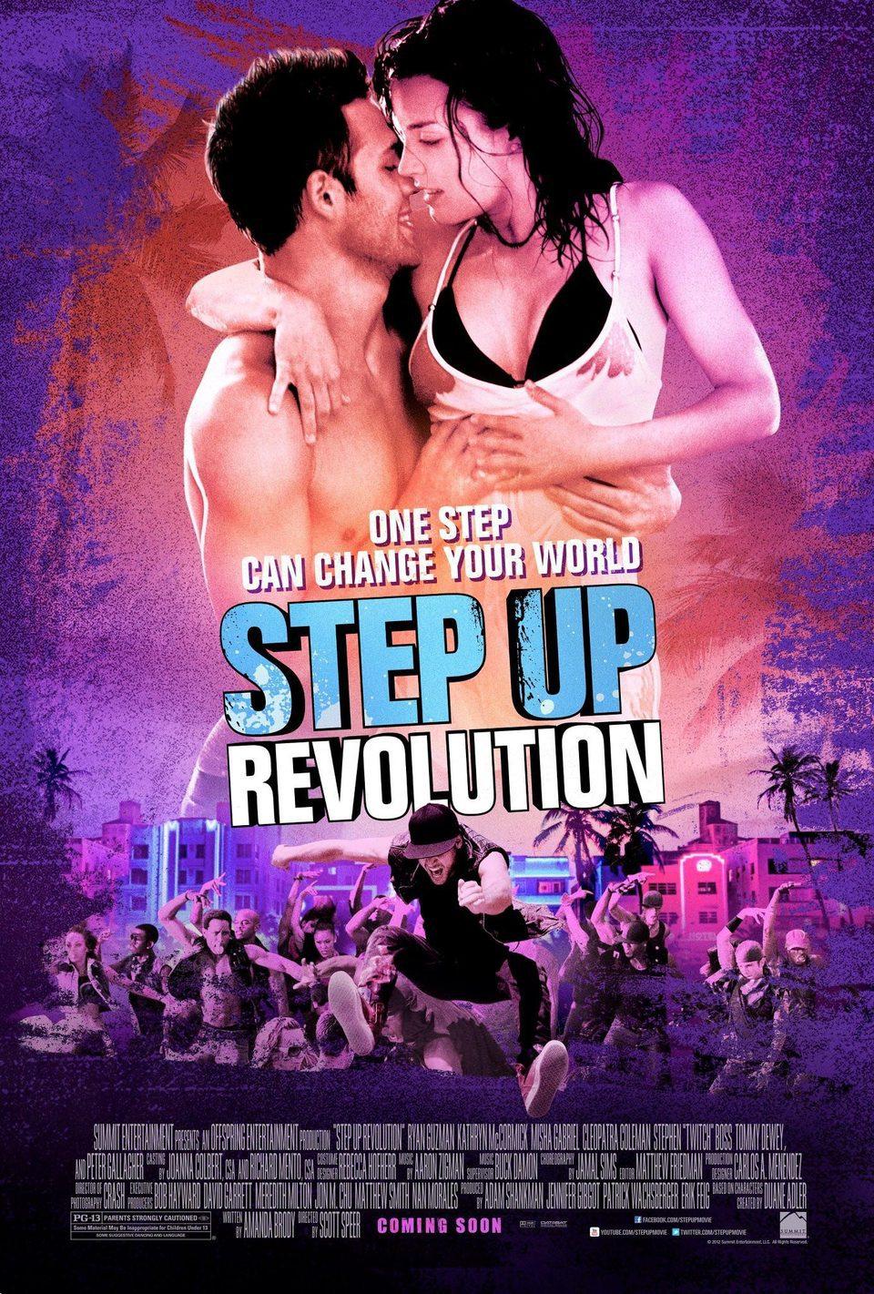 Cartel EEUU de 'Step Up: Revolution'