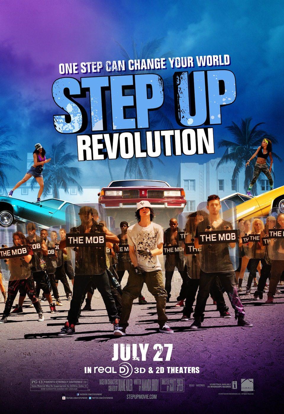 Cartel EEUU #2 de 'Step Up: Revolution'