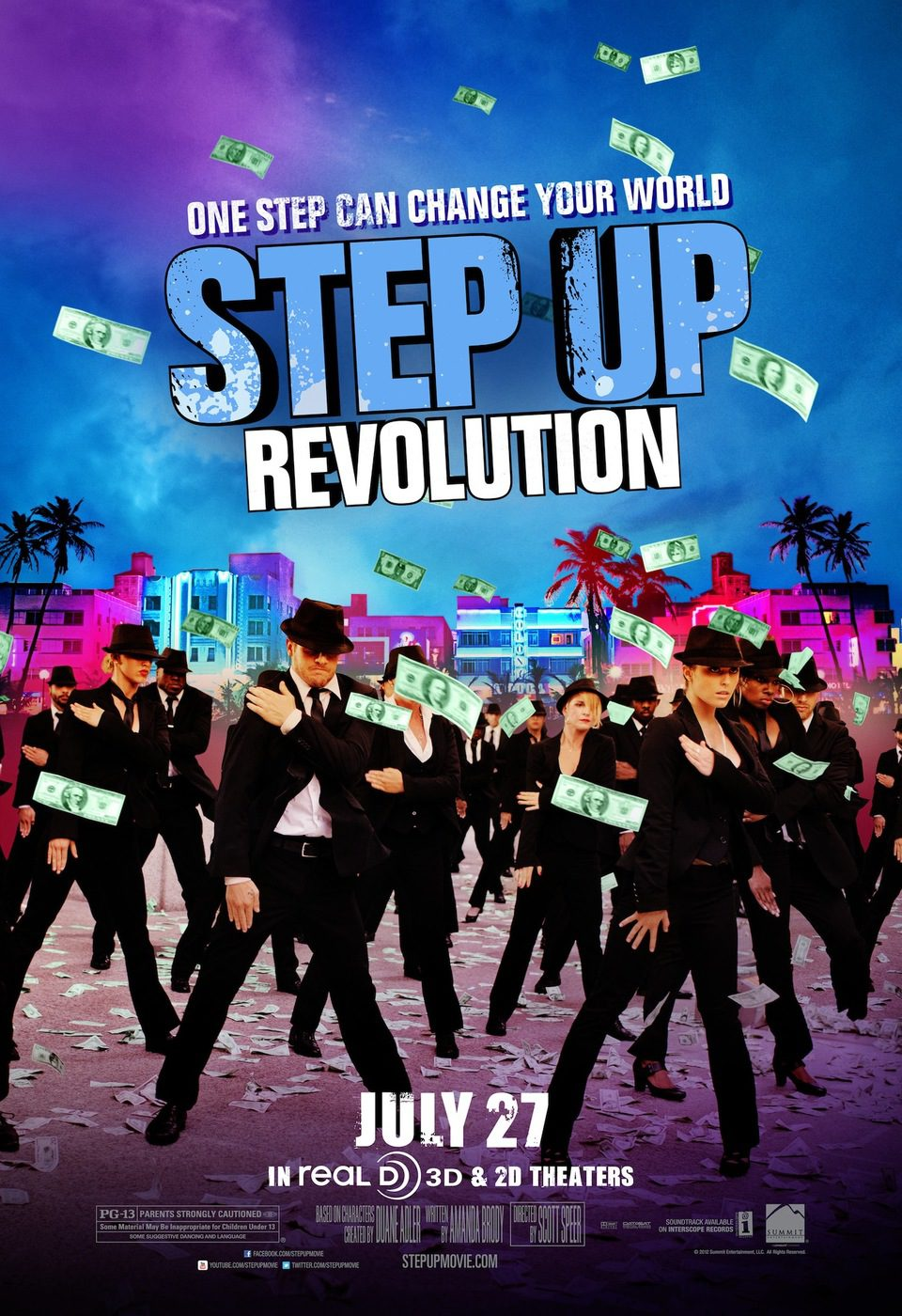 Cartel EEUU #3 de 'Step Up: Revolution'