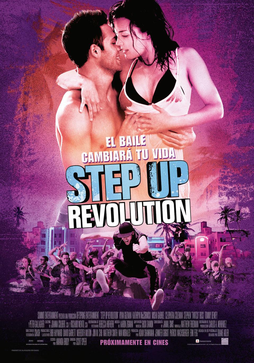 Cartel España de 'Step Up: Revolution'