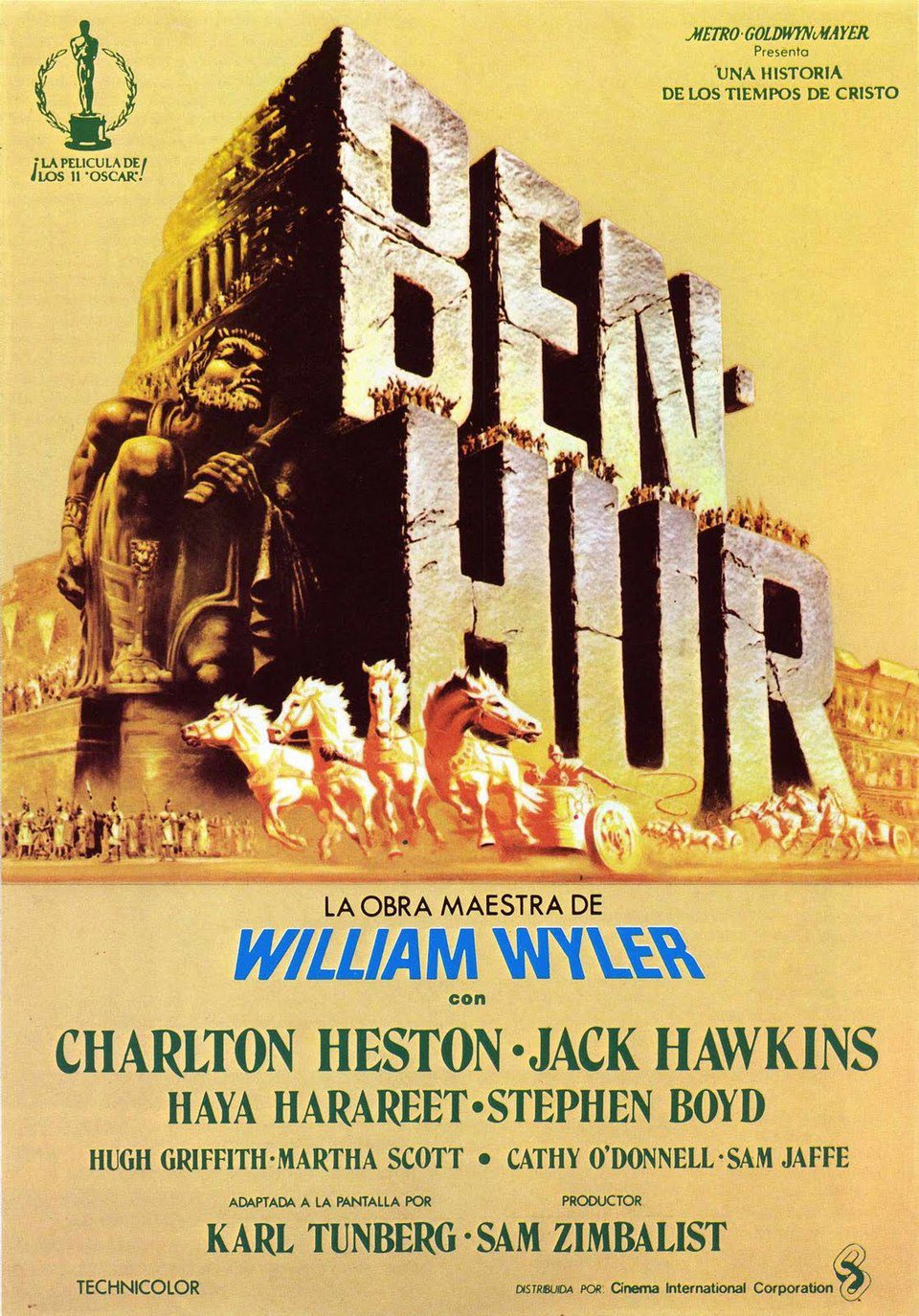 Cartel Estados Unidos de 'Ben-Hur'