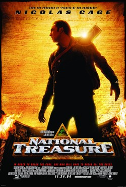 Cartel de La búsqueda (National Treasure)