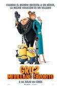 Cartel de Gru 2. Mi villano favorito