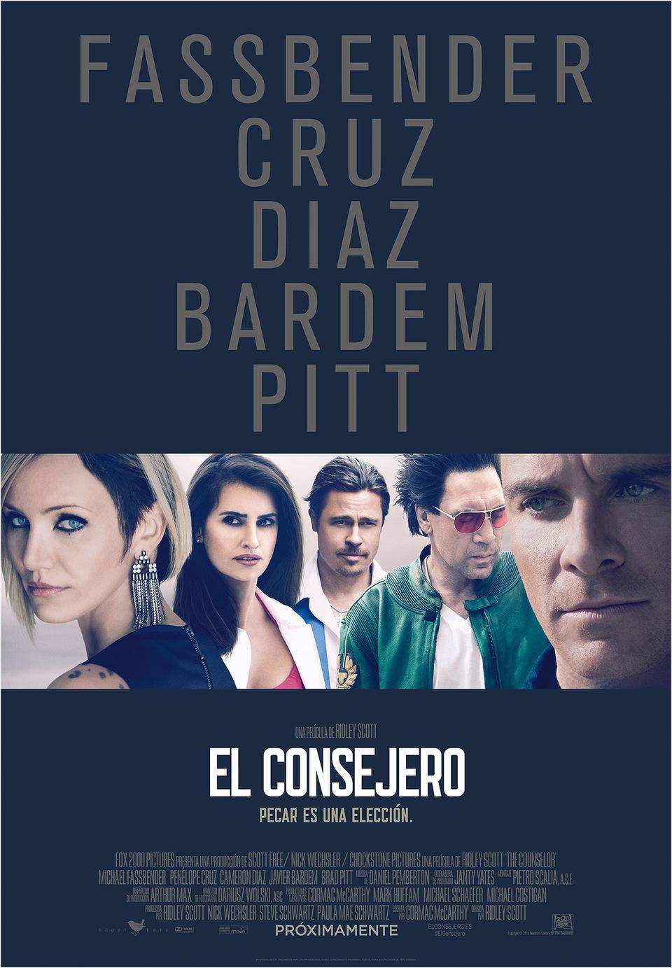 Cartel España de 'El consejero'