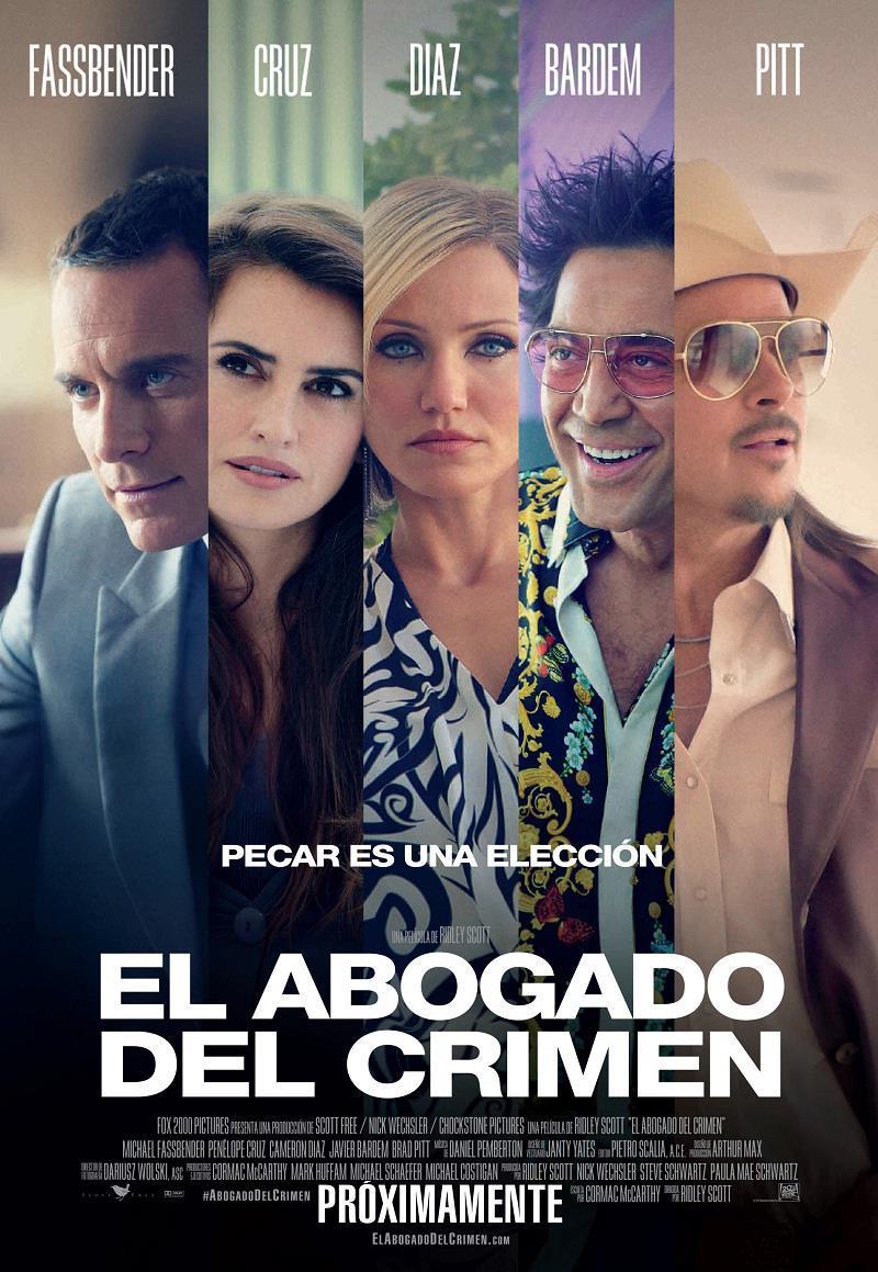 Cartel Mexico de 'El consejero'