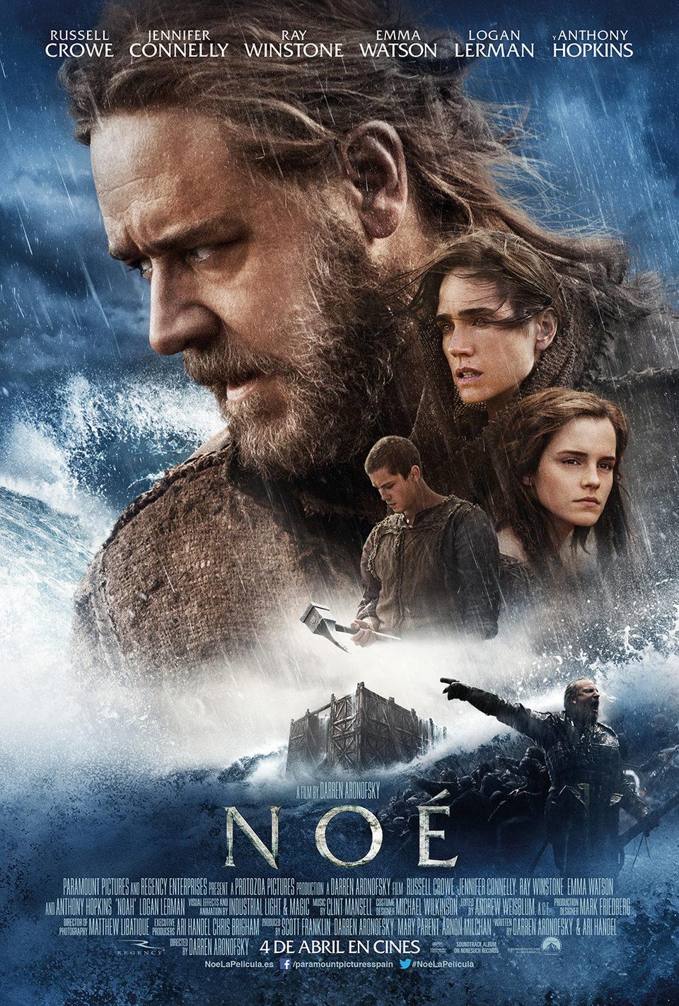 Cartel España 2 de 'Noé'