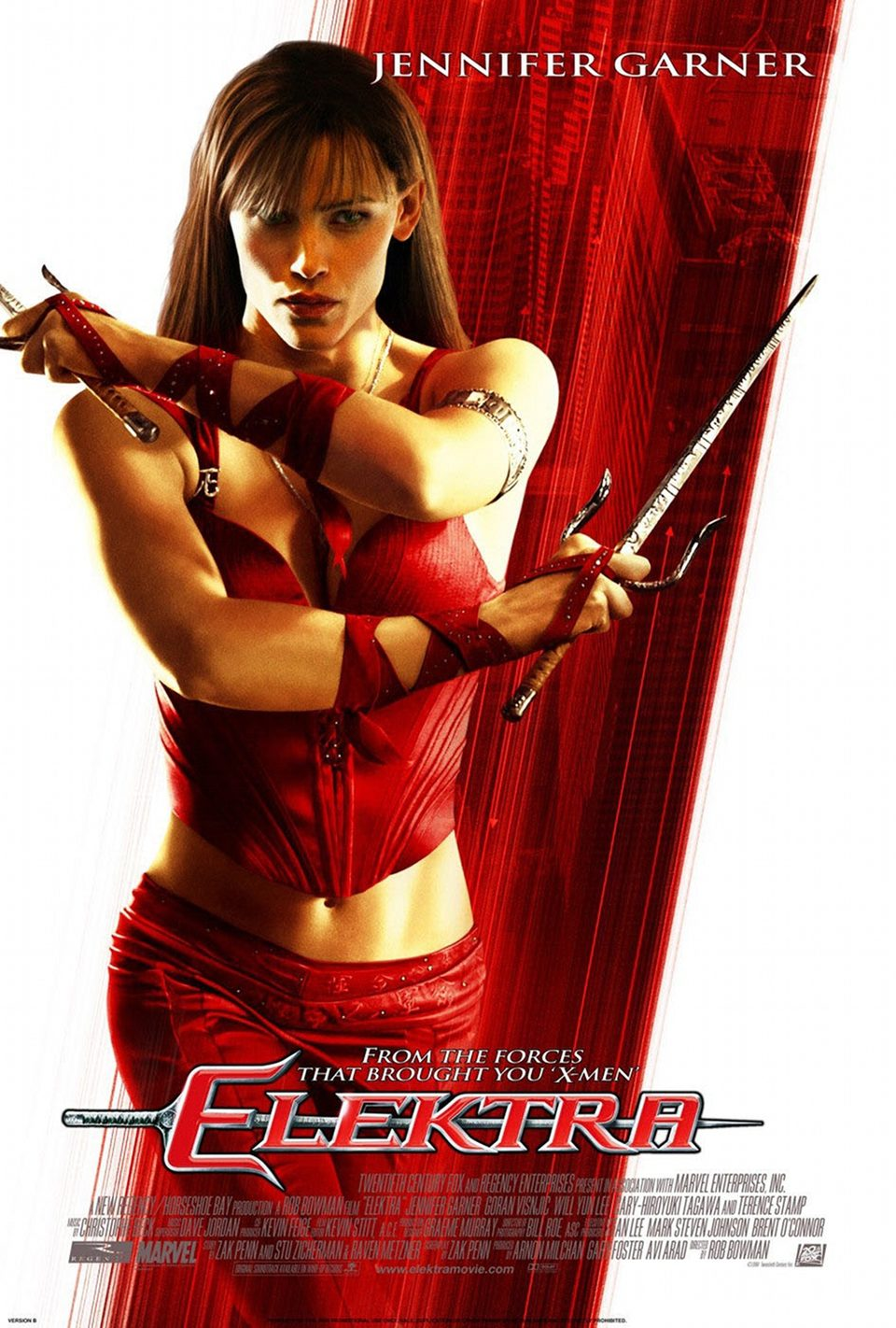 Cartel Estados Unidos de 'Elektra'