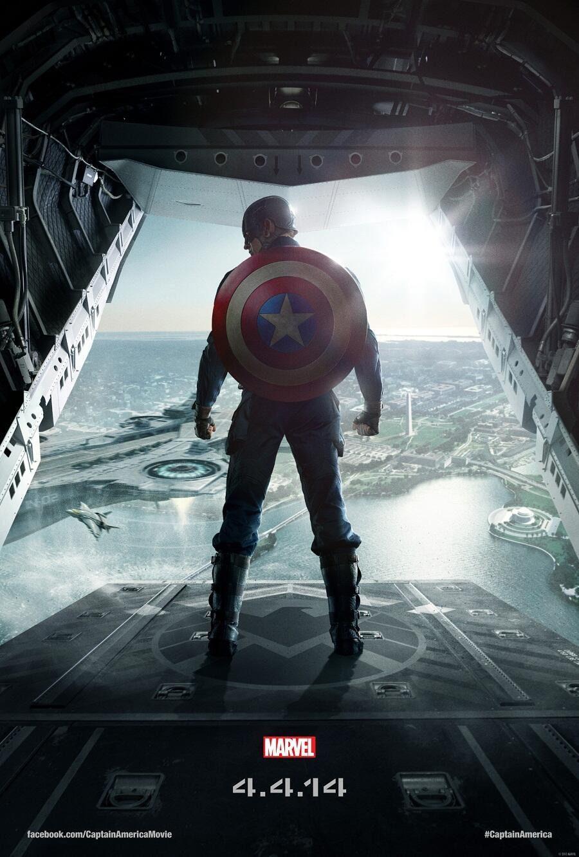 Cartel EEUU de 'Capitán América: El soldado de invierno'