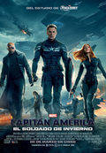 Cartel Capitán América: El soldado de invierno