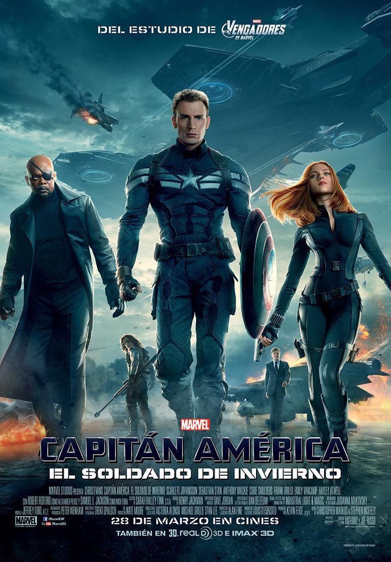 Cartel España de 'Capitán América: El soldado de invierno'