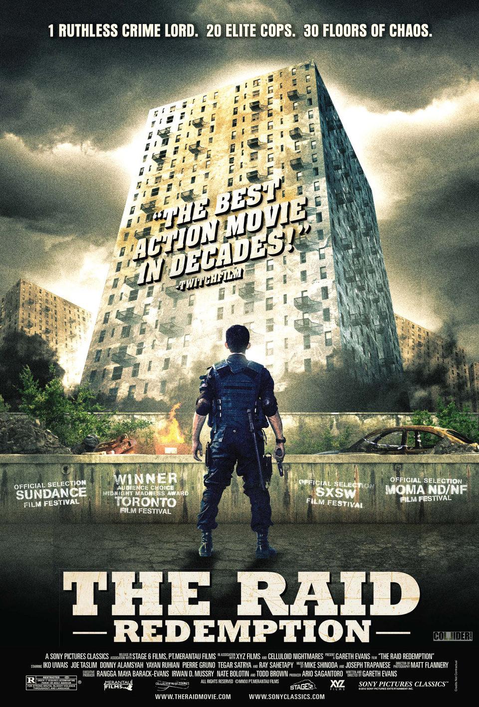 Cartel Estados Unidos de 'The Raid: Redemption'