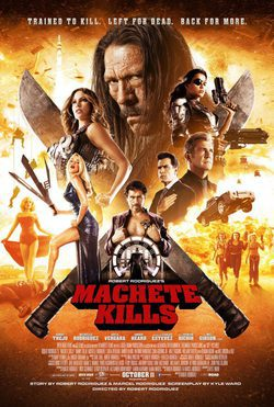 Cartel de Machete Kills