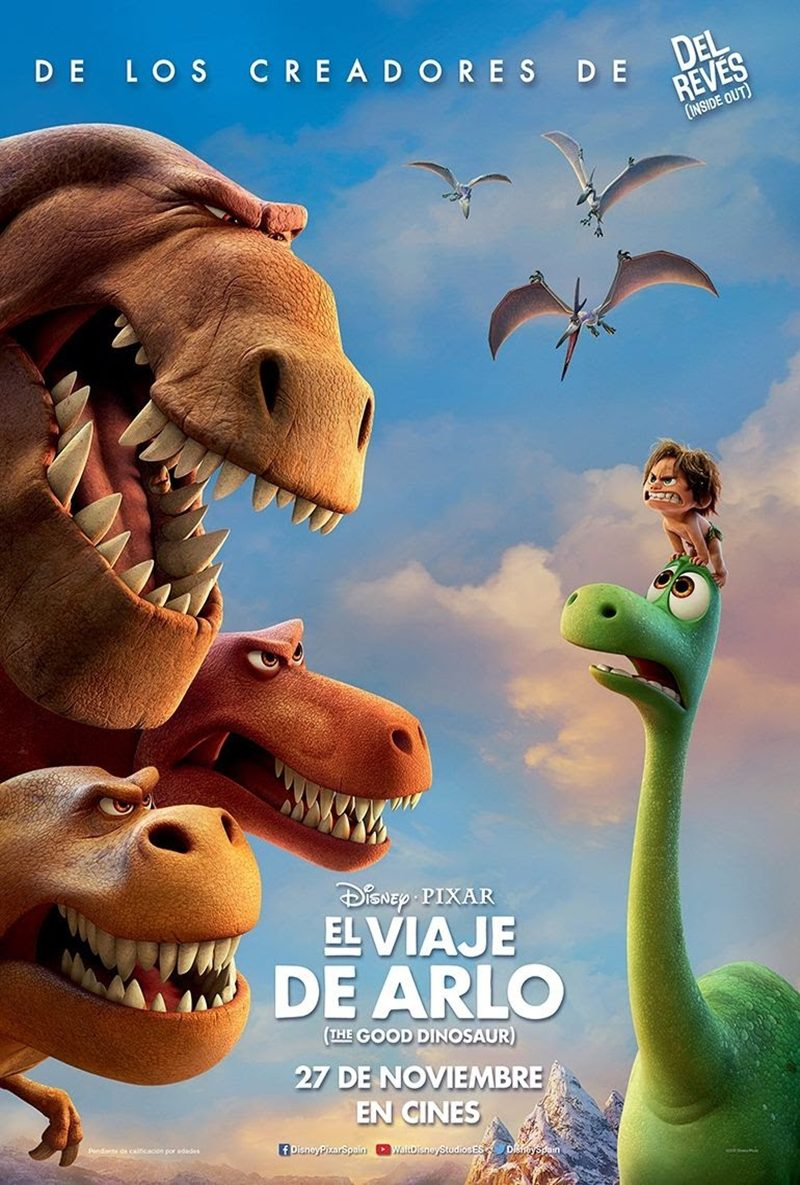 Animation, amimación, película, cartelera, El viaje de Arlo, The good dinosaur, pixar, comedia, aventuras, prehistoria, 3d, blog de cine, solo yo, blog solo yo