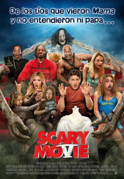 Cartel de Scary Movie 5