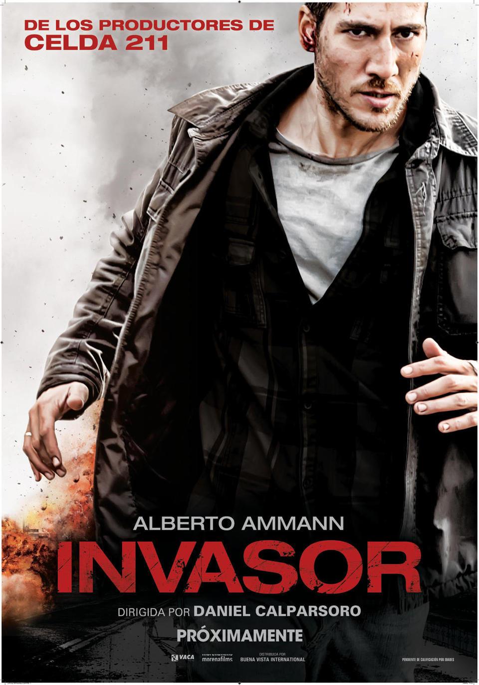 Cartel España de 'Invasor'