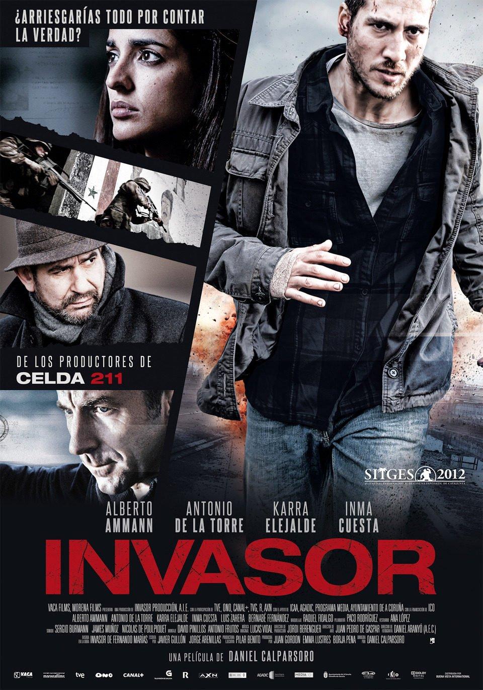 Cartel España #2 de 'Invasor'