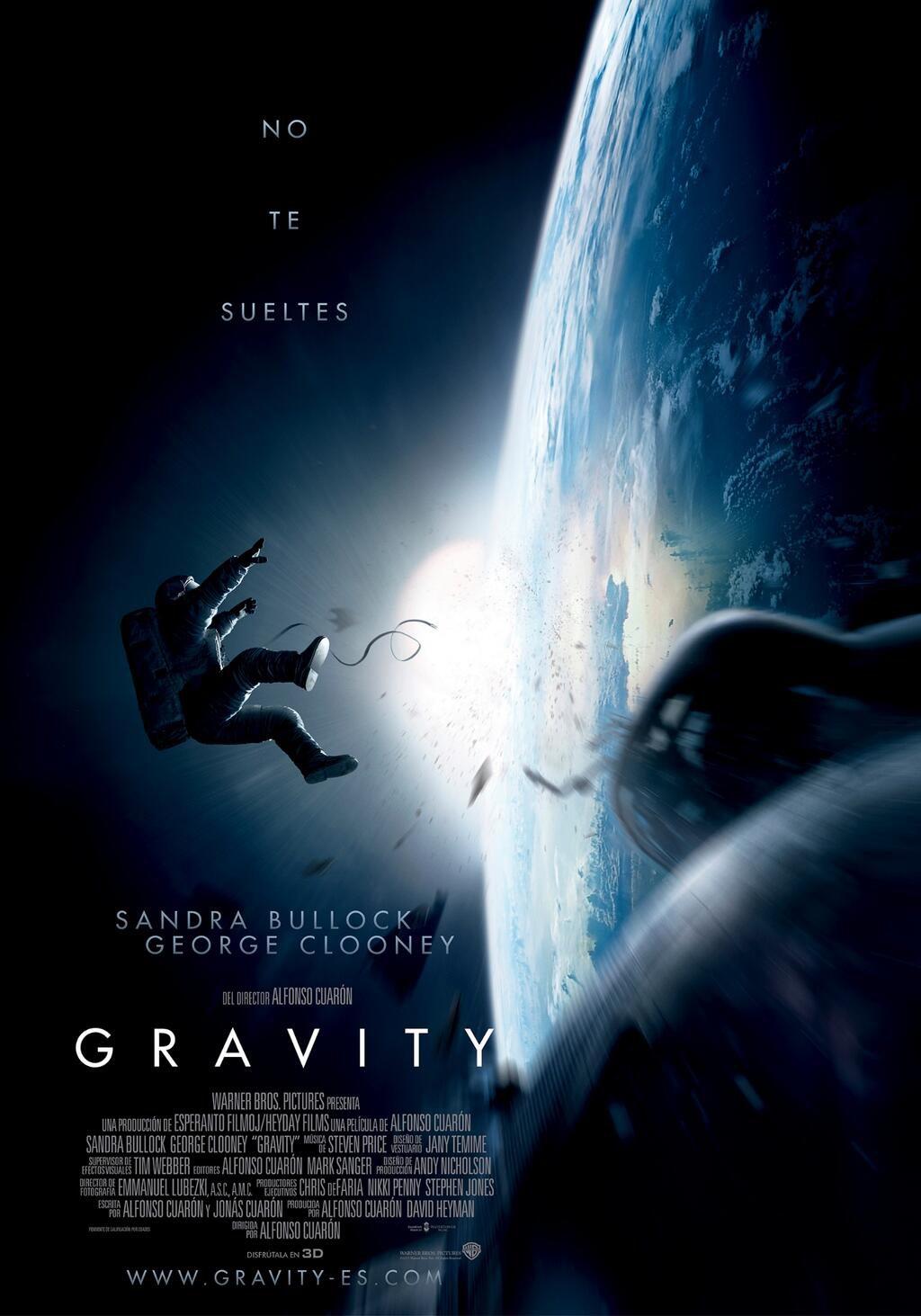 Cartel España de 'Gravity'