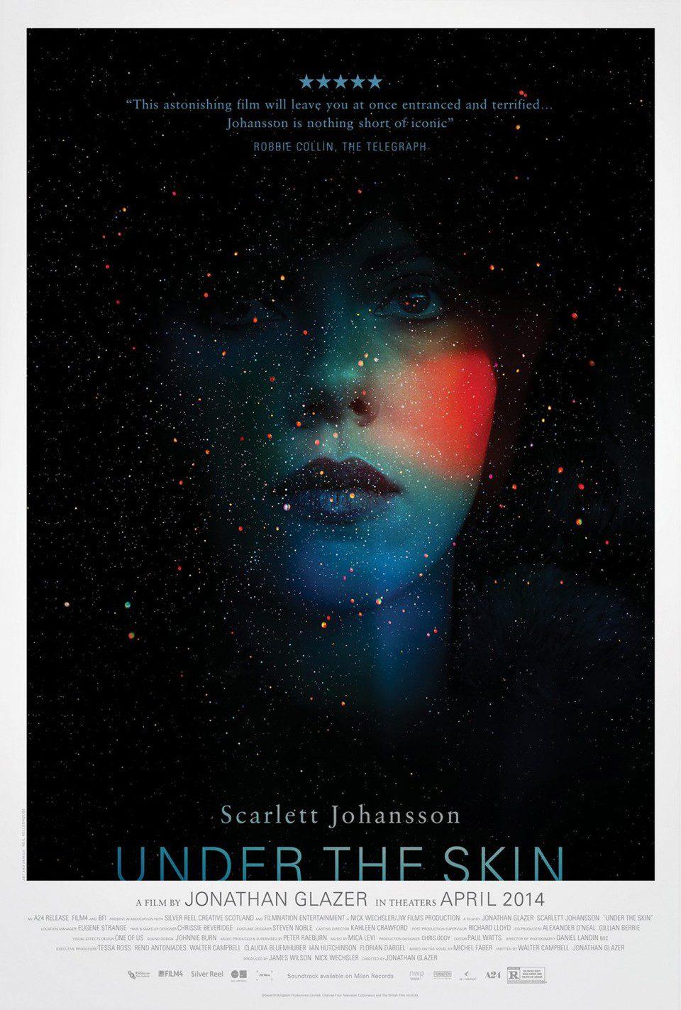 Cartel EEUU de 'Under the Skin'