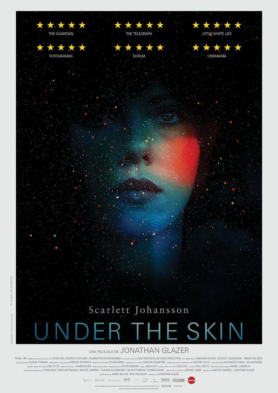 Cartel España de 'Under the Skin'