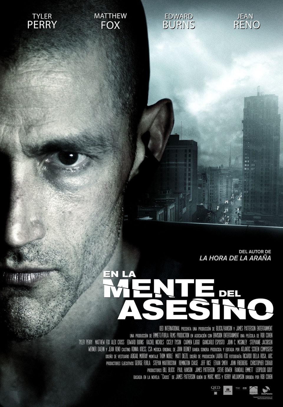 Cartel España de 'En la mente del asesino'