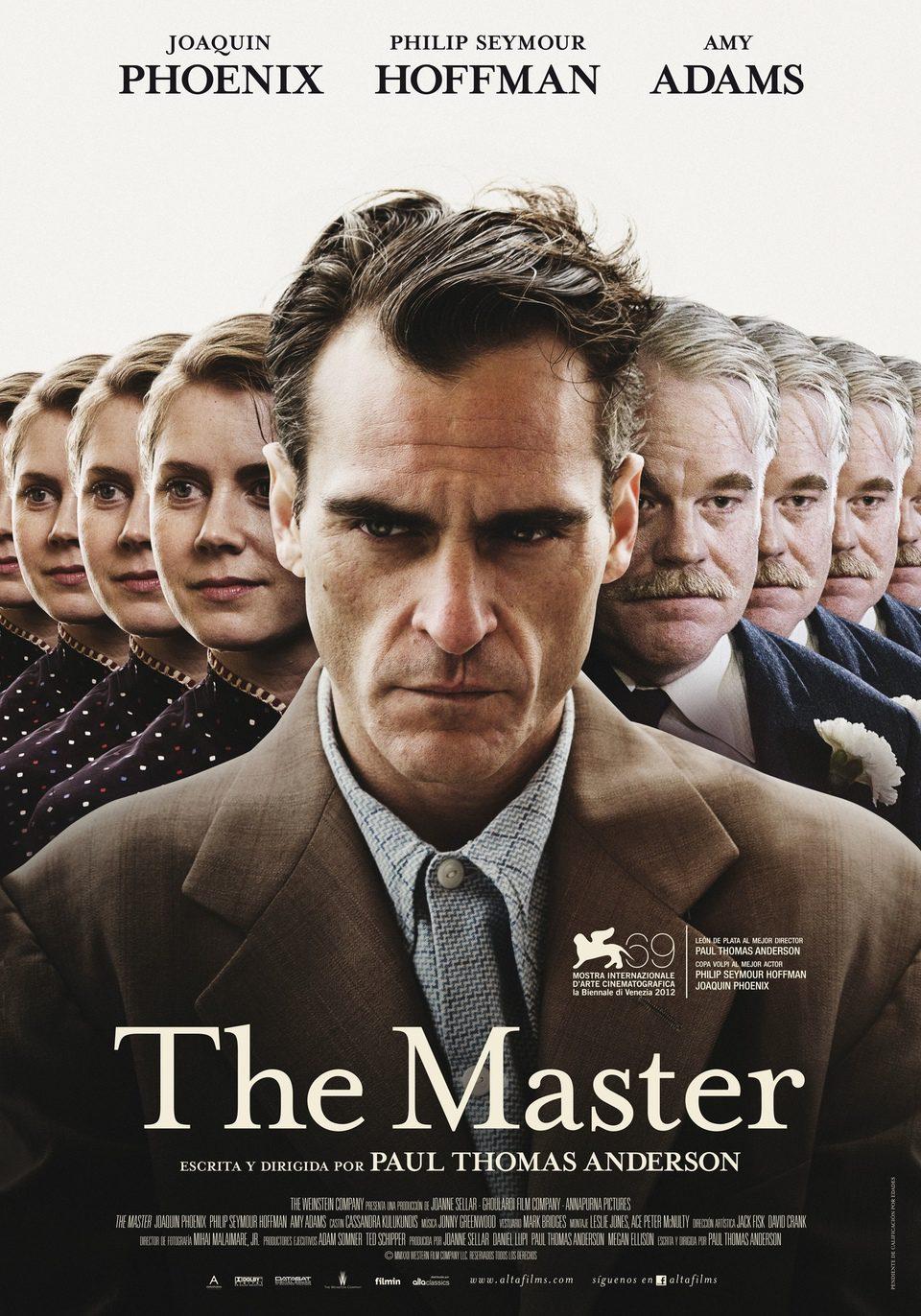 Cartel España de 'The Master'