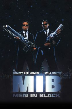 Cartel de Men in Black (Hombres de negro)