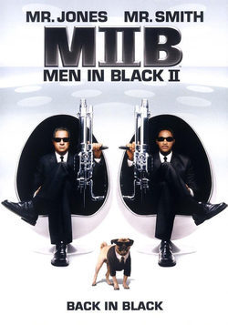 Cartel de Men in Black II