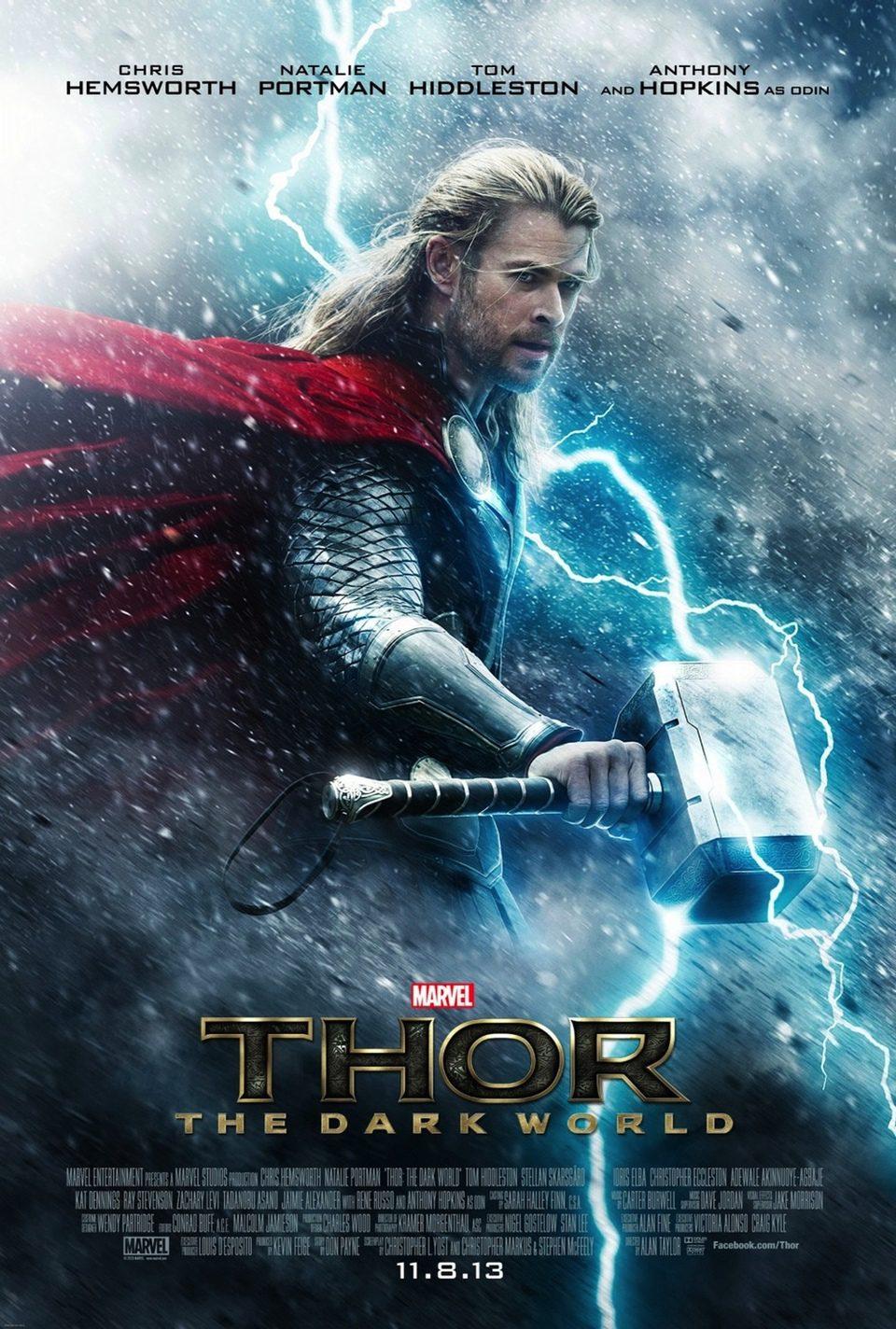 Cartel EEUU de 'Thor: El mundo oscuro'