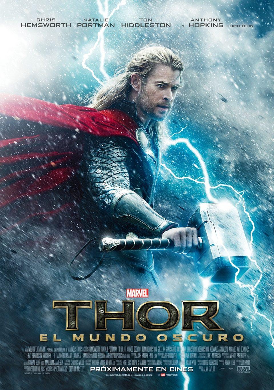 Cartel España de 'Thor: El mundo oscuro'