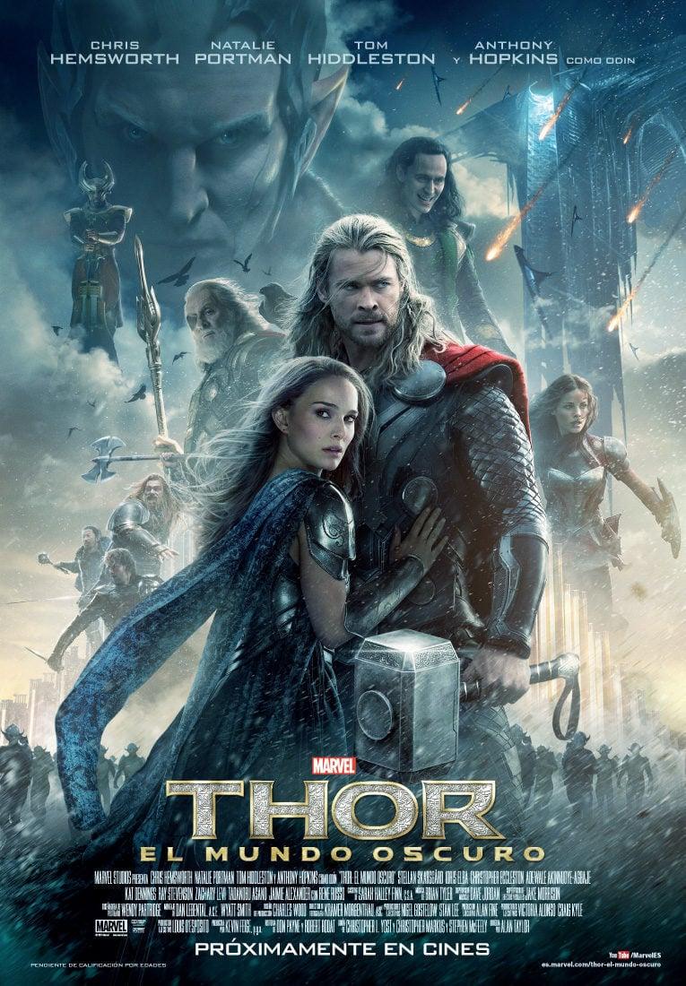 Cartel España 2 de 'Thor: El mundo oscuro'