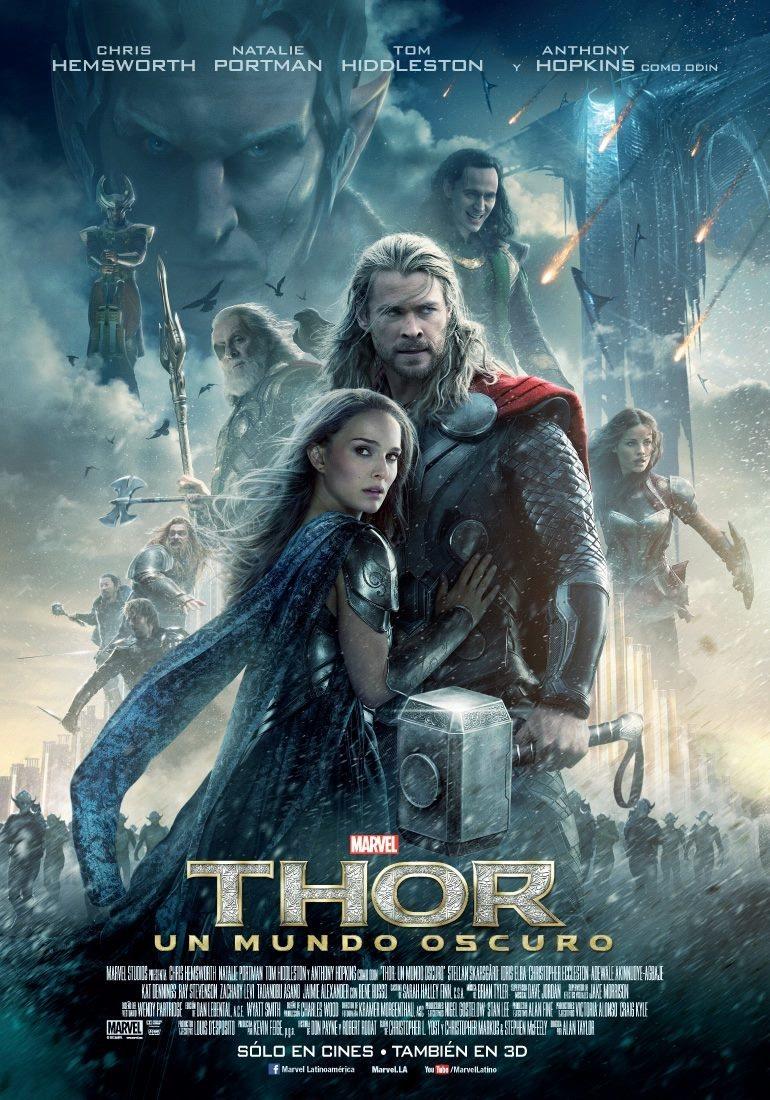 Cartel México de 'Thor: El mundo oscuro'