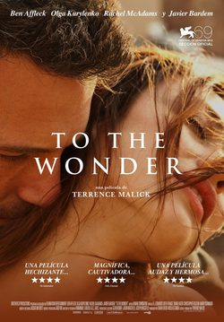 Cartel de To the Wonder