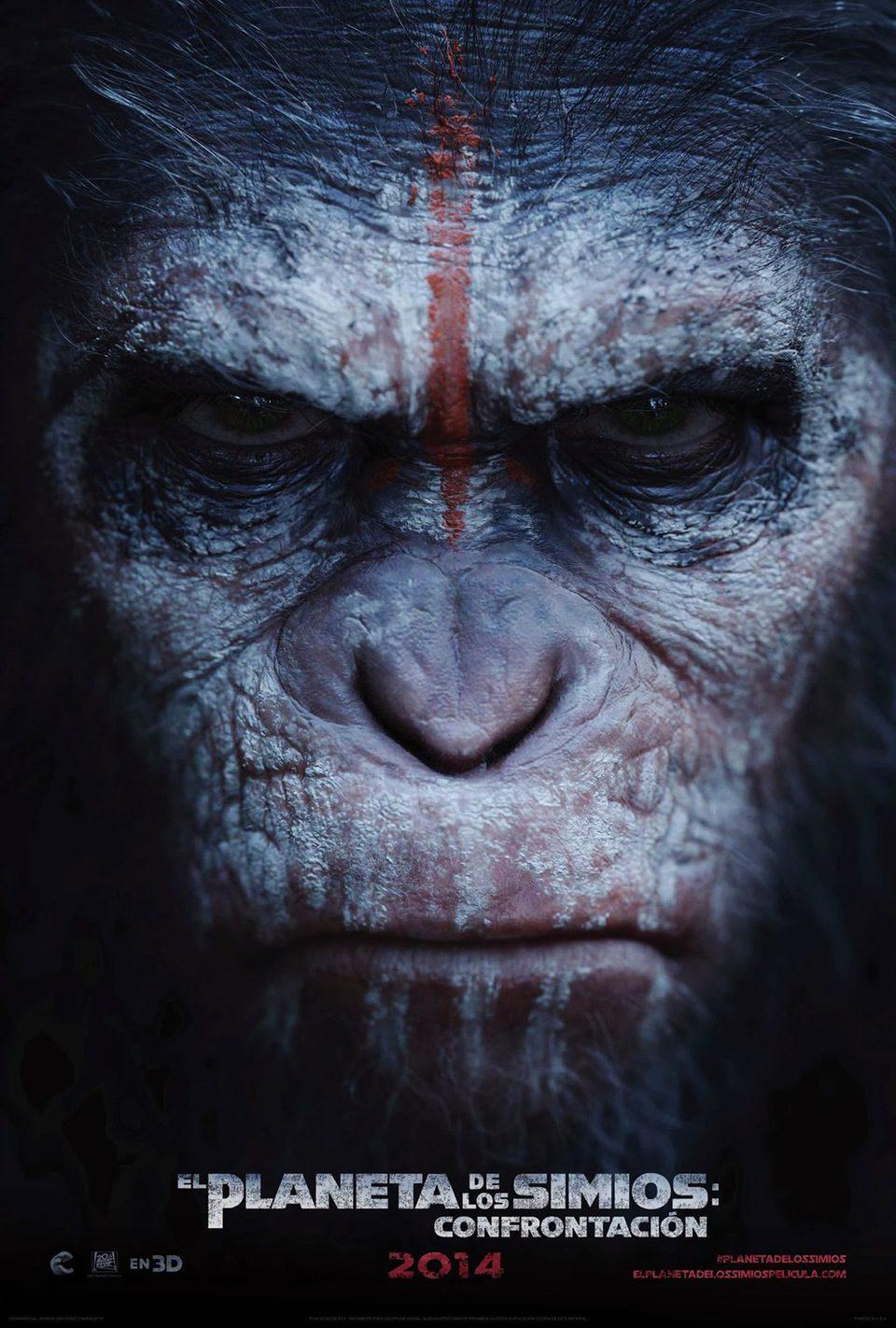 Cartel México de 'El amanecer del planeta de los simios'