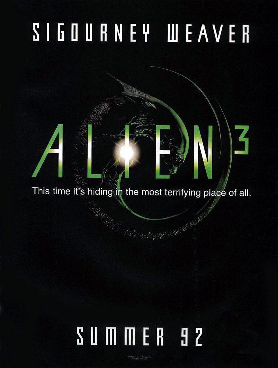 Cartel Estados Unidos de 'Alien 3'
