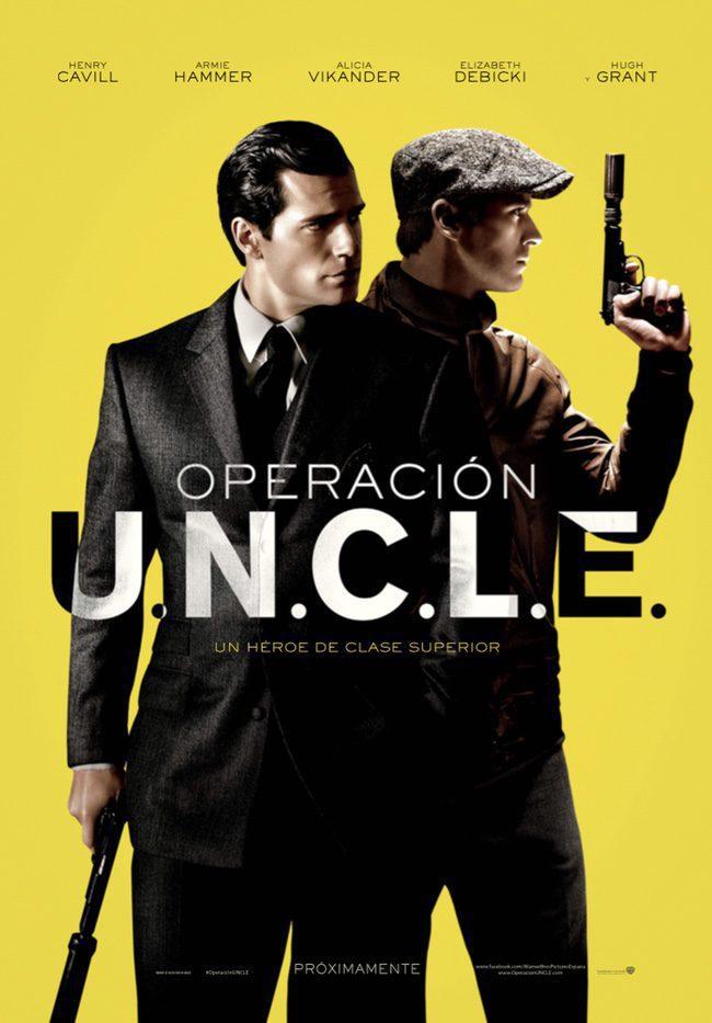 Cartel España de 'Operación U.N.C.L.E.'