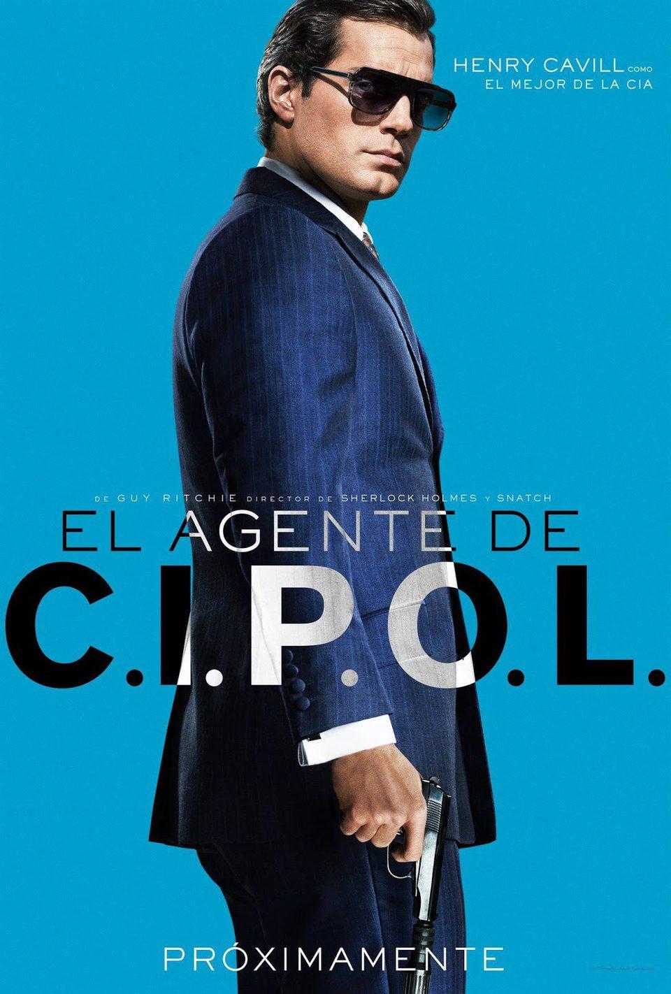 Cartel México de 'Operación U.N.C.L.E.'