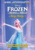 Cartel Frozen: El reino del hielo
