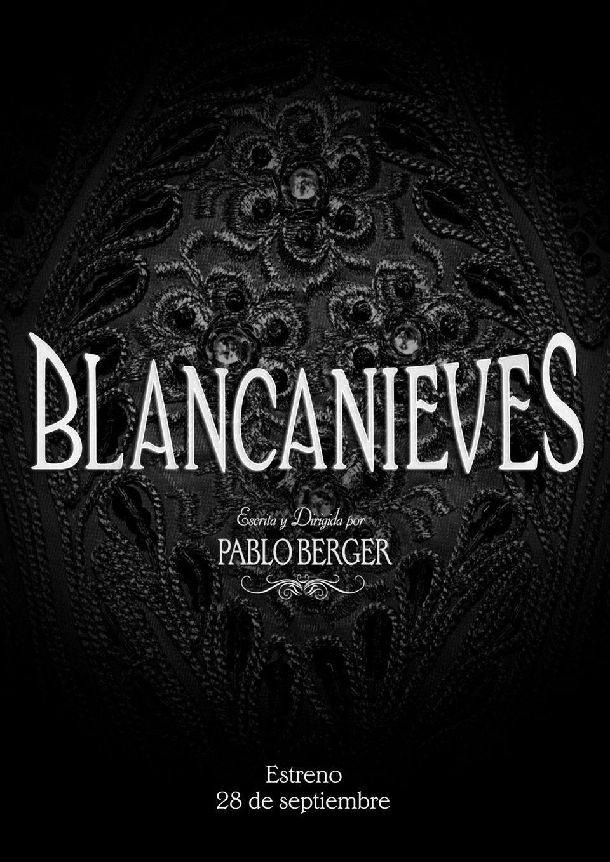 Cartel Teaser España de 'Blancanieves'