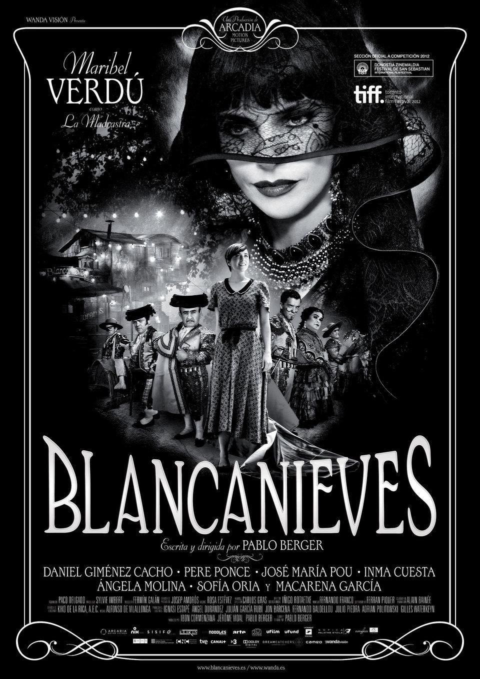 Cartel España de 'Blancanieves'