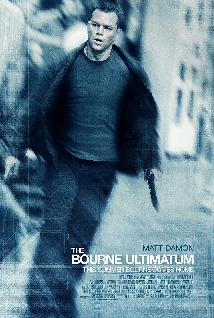 Cartel EEUU de 'El ultimátum de Bourne'