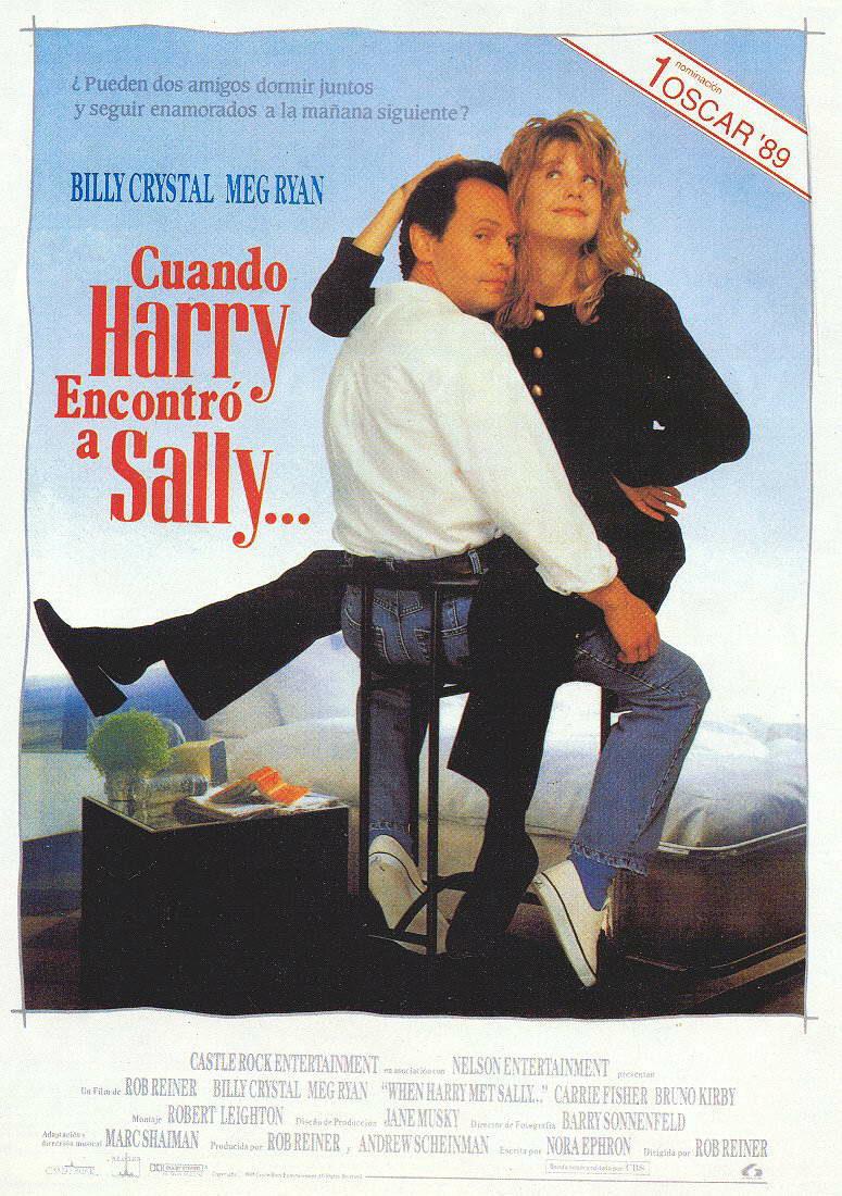 Cartel España de 'Cuando Harry encontró a Sally'