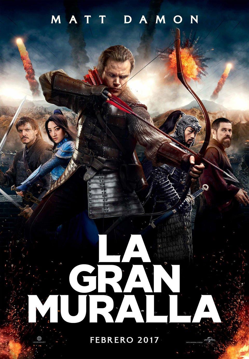 Cartel España ·#2 de 'La gran muralla'