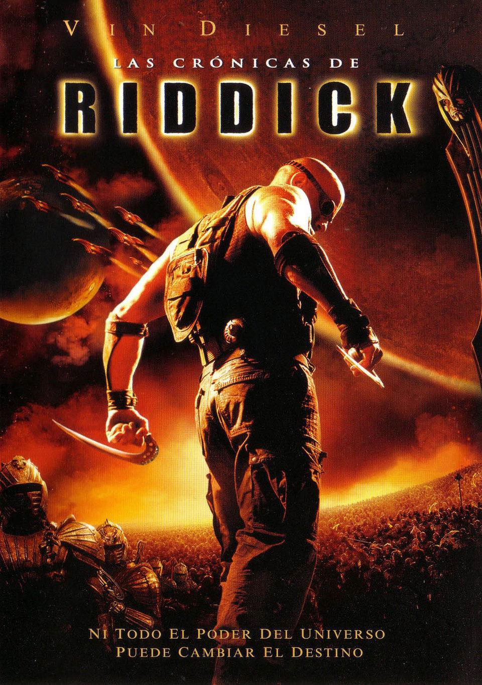 Cartel España de 'Las crónicas de Riddick'