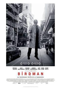 Resultado de imagen de PELICULA Birdman' en 2015