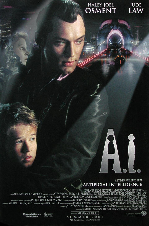 Cartel EEUU de 'A.I. Inteligencia Artificial'